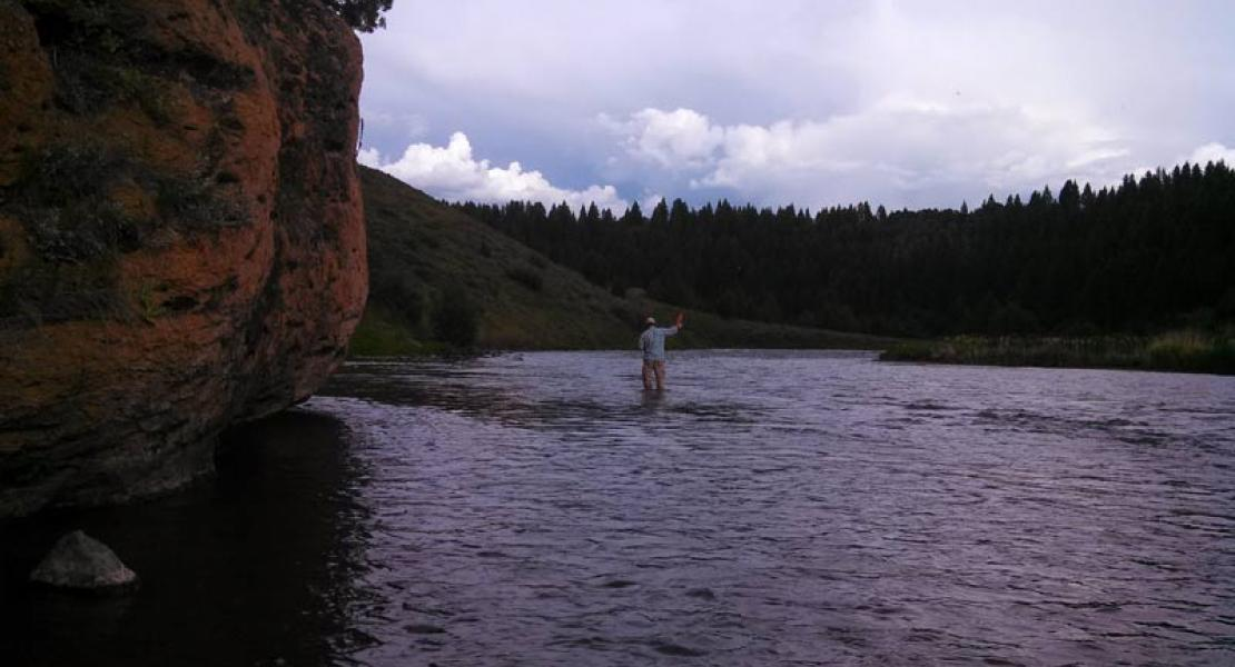 Fly Fishing on the Henry's Fork of the Snake River