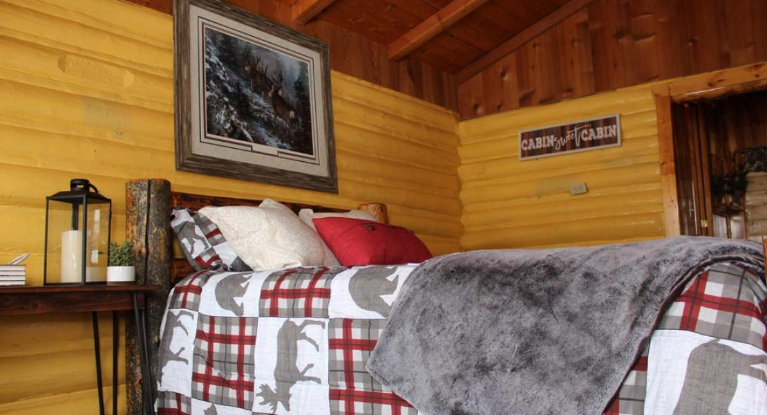 Ashton Log Cabin Rentals